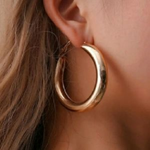 Jewelry - Hallow Hoop Earrings $12 or both/$18